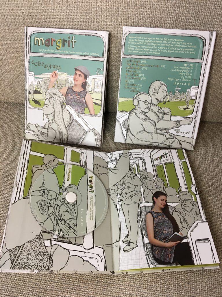 CD-Bilder-Buch Cobratram aus verschiedenen Perspektiven