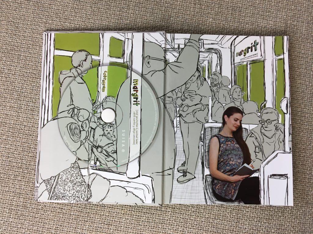 CD-Bilder-Buch Cobratram geöffnet